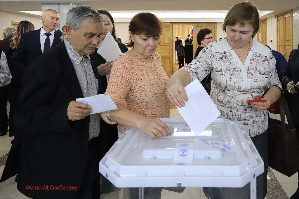 Итоги Йошкар-Олинской конференции по выборам делегатов  на XI Съезд марийского народа