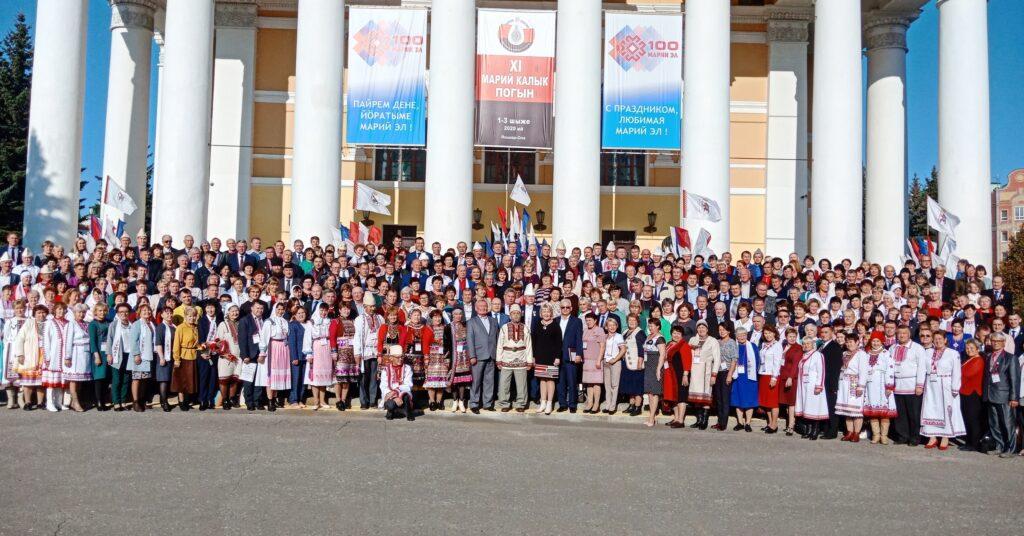 XI Съезд марийского народа объединил 19 регионов России